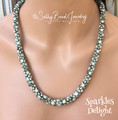 Sparkles Delight - Sea Foam - Necklace Kit