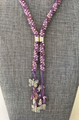Lariat Necklace - Butterflies