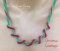 Christmas Cavatappi - Necklace Kit