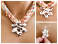 Abstract Flower Pendant Only