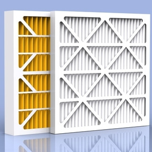 Custom made 21.5 x 23.5 x 1  high capacity pleated filters for Carrier, Bryant, Payne Air Handlers.