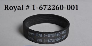 BELT Royal Metal Uprights #1-672260-001 Knurled Inside Track Genuine OEM Belt