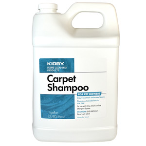 Kirby Home Care Products One Gallon Carpet Shampoo - Lavender Scent (PET)