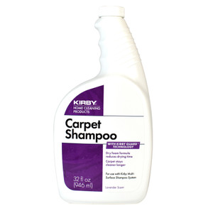 Kirby Home Care Products 32 Oz. Carpet Shampoo - Lavender Scent