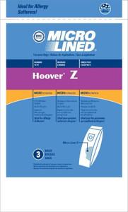 3 Pack - Hoover Z Vacuum Bags Dimension PowerDrive PowerMax Turbo Power
