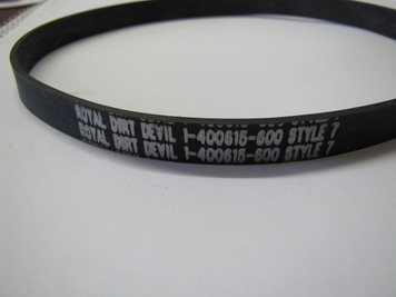 Royal Dirt Devil Easy Steamer Style 7 Belt 460615