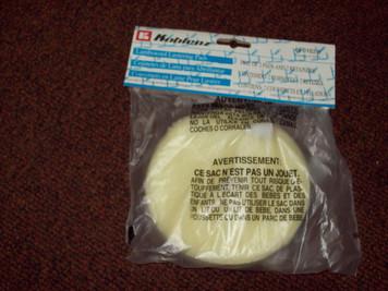 Genuine Koblenz Lambs Wool Pads w/ retainer clips 45-0102-9