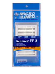 Kenmore Progressive Vacuum Micro Line HEPA Replacement Filters EF2 8175116