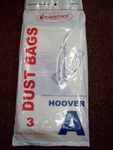 EnviroCare Brand Hoover Type A Vacuum Bags Concept, Decade, Elite II Runabout