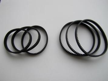 Three (3) sets Bissell Pro Heat Carpet Cleaner Belts 2X