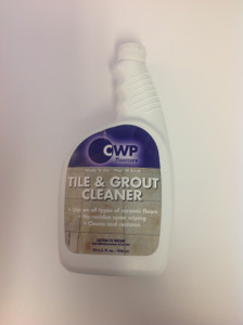 "CWP Ceramic Floor Tile & Grout Cleaner Cleans & Shines Great  w/ ""Tile Diamond"""