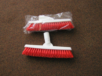 TWO Grout line scrub brush tools w/ swivel neck. Clean grout floor wall counters