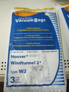 3 Vacuum Cleaner Bags fit Hoover Windtunnel 2 Type W2