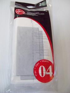 40110004 Type 4 Hoover Windtunnel Final Filter 38766009 2 Pack- Genuine