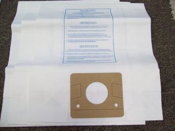 Eureka B Vacuum Bags & Filters-3+3 Pack-