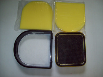 Eureka Capture PMF-1 Foam Filters, 80977 Filter w/Frame & HF-10: Fits 8803/8802