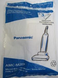 Panasonic AMC-M2EP Vacuum Bags: U-14: MC-UG323, MC-UG327