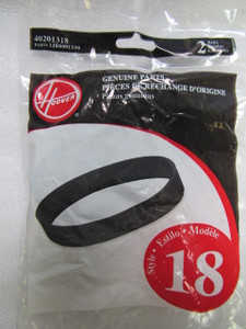 Hoover U4707 U4730 Style 18 40201318 2 Pack Belts Clean & Light Signature Vacuum