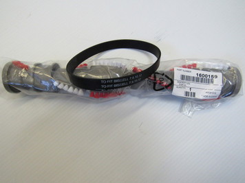 "Bissell 1600159 13.5"" Brushroll 3918, 9595, 4207, 2410-CleanView Plus- & 1 Belt"