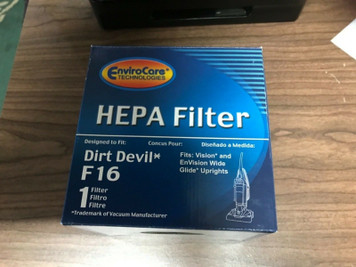 EnviroCare Brand F16 Filter replaces 2JW1000000 for Roy Dirt Devil