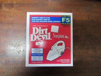 Genuine F5 Filter for Dirt Devil Scorpion Hand Vac