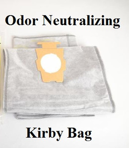 Kirby Vacuum Bag. G & F-STYLE Micron Magic Odor Fighter with Charcoal Filtration