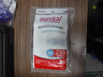 3 Genuine Eureka Airspeed  AS1050 Upright Vacuum Cleaner Bags 68155