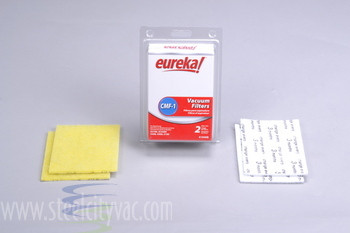 Genuine Eureka CMF-1 Filters set (four filters) Eureka & Sanitaire Victory Part 61940B