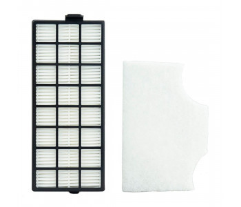 Filter set includes pre-motor (secondary) and HEPA Exhaust filters.