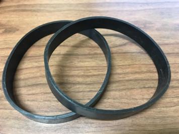 2 Belts Eureka Powerspeed Lightweight Vacuum Cleaner, Part #12675000004212, E0205, E0209