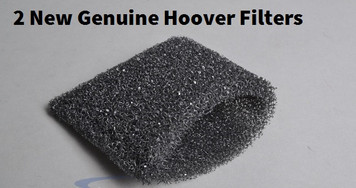 TWO (2) Filters Hoover SteamVac Carpet Cleaner Tank Foam Filters  38762010