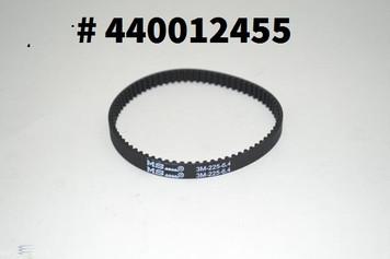 Hoover Vacuum Belt 440012455 Fits PowerDrive Pet and High Performance Swivel models shown. 3M 225-6.4