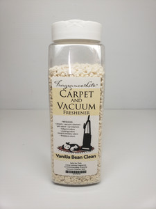 Carpet & Vacuum Freshener VANILLA BEAN CLEAN Scent Neutralize Odors, Any Vacuum