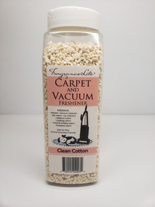 Carpet & Vacuum Freshener CLEAN COTTON Scent Neutralize Odors, Any Vacuum