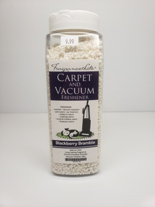 Carpet & Vacuum Freshener BLACKBERRY BRAMBLE Scent Neutralize Odors, Any Vacuum