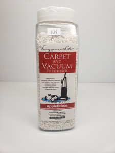Carpet & Vacuum Freshener APPLELICIOUS Scent Neutralize Odors, Any Vacuum