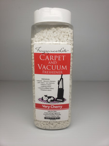 Carpet & Vacuum Freshener VERY CHERRY Scent Neutralize Odors, Any Vacuum