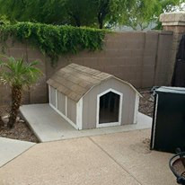 XX-Large Basic Dog House With A/C