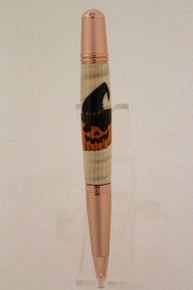 Wall Street  Ballpoint Pen Pumpkin Witch c