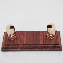 Business Card Holder Bubinga # 941