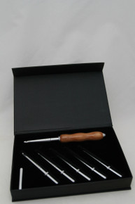 Interchangeable Crochet Hook Set Olivewood 2