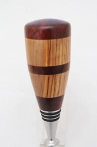 Bottle Stopper Camelthorn & Olivewood