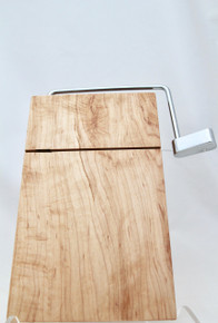 Cheese Slicer Board Bird's Eye Maple # 1173