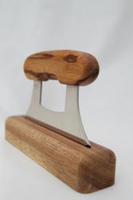 Alaskan Ulu Knife Marblewood 1