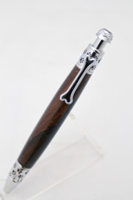 Dog Click Macassar Ebony Pen