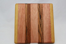 Small Exotic Wood Cutting Board # 1028