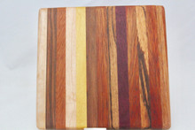 Small Exotic Wood Cutting Board # 1029