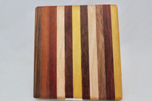 Small Exotic Wood Cutting Board # 1024