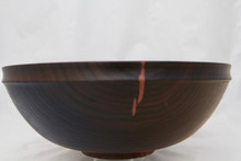 Salad Bowl Walnut # 2177