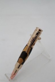 Mini 30 Cal Pau Amarello & Walnut Pen